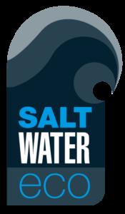 Salt water eco logo
